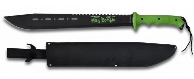 Machette Zombie 63,5cm full tang acier - ALBAINOX.