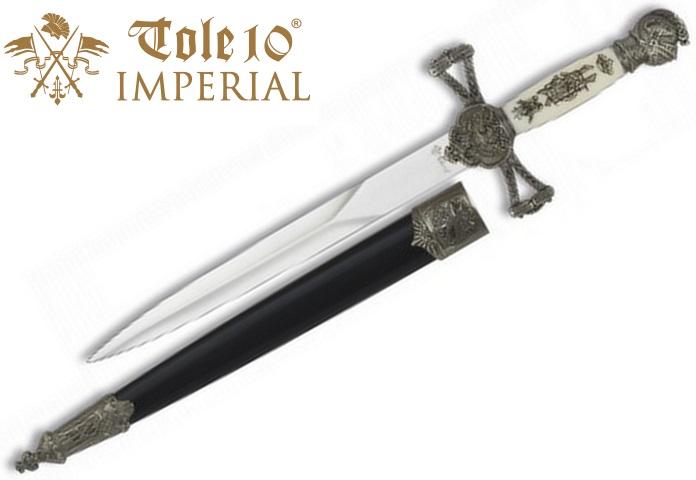 Dague 31cm Chevalier collection - IMPERIAL TOLE10 - 2