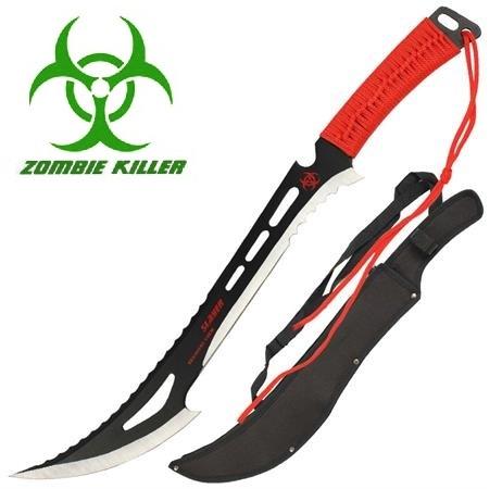 Machette Zombie Killer 60cm acier - épée full tang