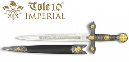 Dague 35,5cm Les Templiers collection - IMPERIAL TOLE10