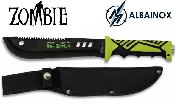 Poignard couteau 32,5cm - Design ZOMBIE