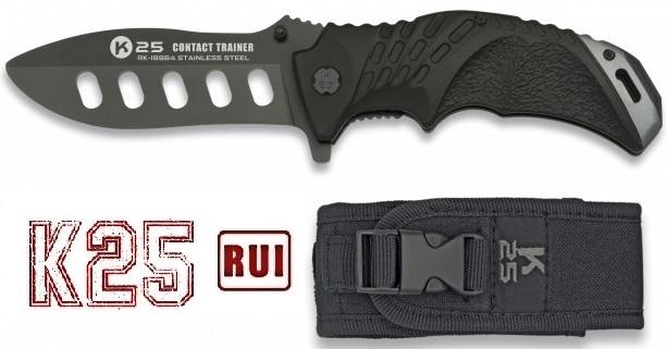 Couteau pliant d\'entrainement de combat 22,8cm - K25 RUI