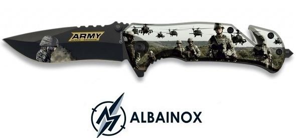 Couteau pliant 19cm Militaire soldat army - ALBAINOX