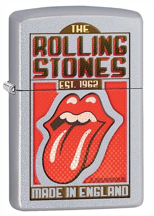 Briquet Zippo officiel - Les Rolling Stones UK