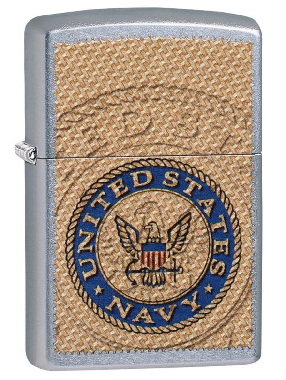 Briquet Zippo officiel - Navy United States USA