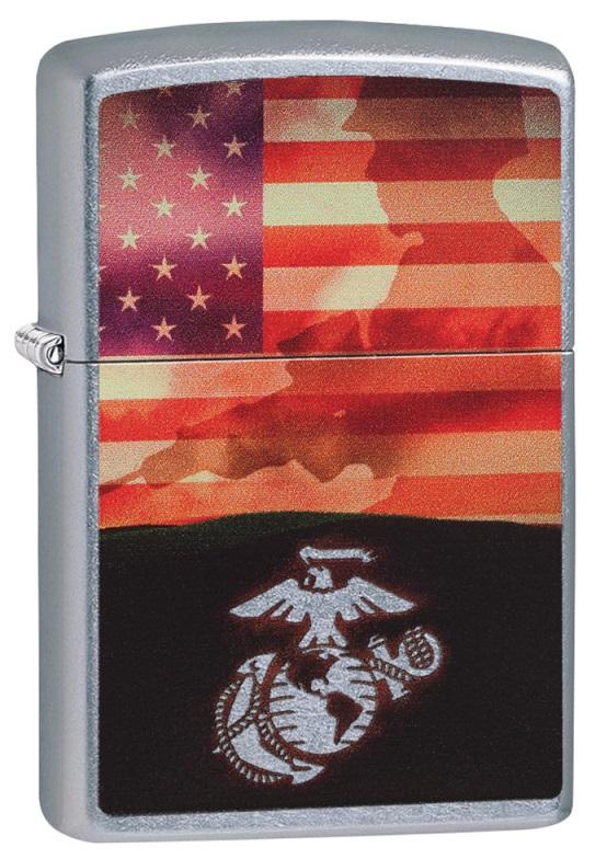 Briquet Zippo officiel - US Marine Corps USA (USMC).