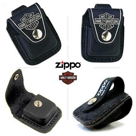 Etui Zippo en cuir briquet Harley-Davidson - Briquet Zippo - COUTEAU ... c734b96c4de