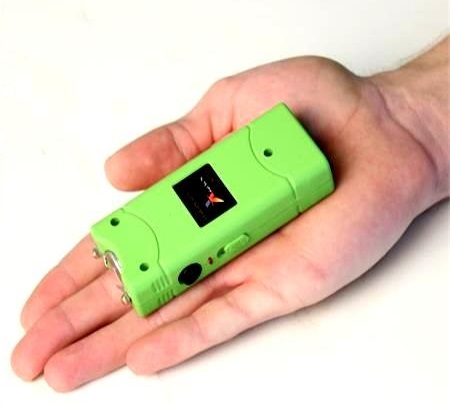 Taser shocker 6 800 000 volts ! électrique vert - Tazer Power