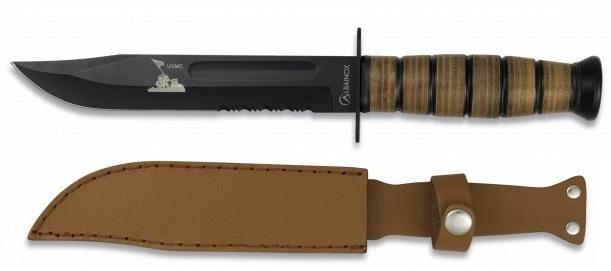 Poignard couteau 30,3cm tactique USMC - ALBAINOX