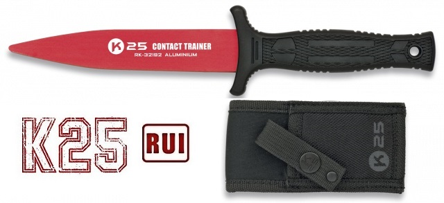 Couteau dague d\'entrainement de combat 23cm - K25 RUI