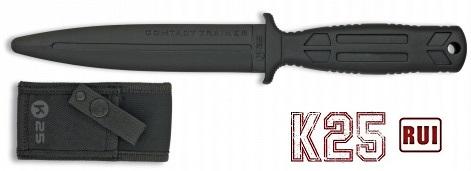 Couteau dague d\'entrainement de combat 28,5cm - K25 RUI