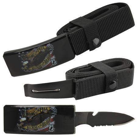 d4f26187c2aa Couteau ceinture universelle toutes tailles - USA liberté