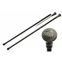 Canne épée 92cm baton de marche - Design Aigle