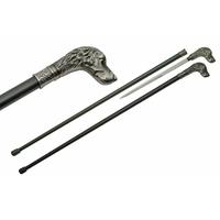 Canne épée 93,5cm baton de marche - Chien Dog