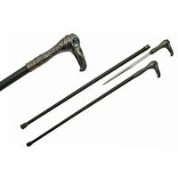Canne épée 94cm baton de marche - Design Oiseau