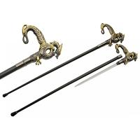 Canne épée 93,5cm baton de marche - Design Dragon