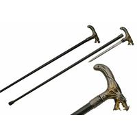 Canne épée 92,5cm baton de marche - Design Dragon