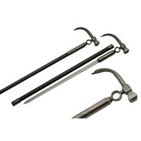 Canne épée 87,8cm baton de marche - Design Marteau