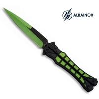 Couteau papillon balisong 23cm design - ALBAINOX