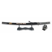 Katana arme 92,5cm + socle déco - Design Samouraï.