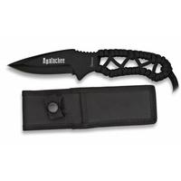 Couteau 20cm noir militaire - Full tang tout acier.