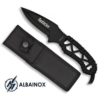 Couteau 20cm noir militaire - Full tang tout acier