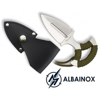 Dague couteau botte push-dagger 12,7cm ALBAINOX
