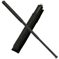Matraque télescopique 50cm acier - Résistante et maniable