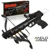 Arbalète pistolet 80 livres + 3 flèches - ANGLO ARMS