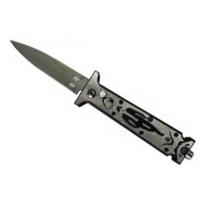 Couteau automatique 16,8cm à cran d'arrêt compact