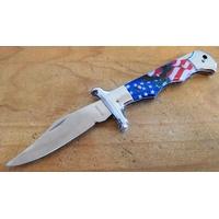 Couteau pliant 21cm de rue - Drapeau américain