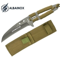 Couteau full tang acier 21,2cm ALBAINOX - militaire