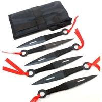 Lot 6 couteaux de lancer kunai - DEFENDER couteau