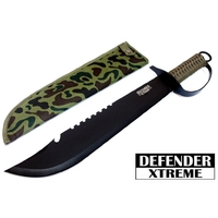 Machette épée coupe-coupe 49,2cm tactique DEFENDER