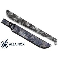 Machette 53,2cm full tang ALBAINOX - Design python