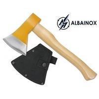 Hachette hache 40cm manche en bois ALBAINOX