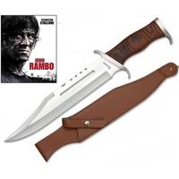 Grand poignard 41,2cm de chasse - Couteau RAMBO bowie