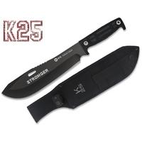 Poignard K25 couteau 37,5cm tactique TITANE