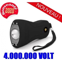 Taser shocker 4 000 000 volts LED + dragonne - tazer
