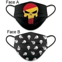 Masque de protection Punisher tissus lavable réversible
