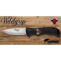 Couteau pliant 21cm LEOPARD design Taureau