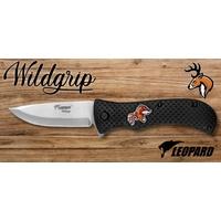 Couteau pliant 21cm LEOPARD design Cerf
