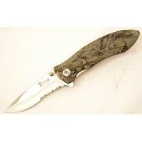 Couteau camouflage pliant