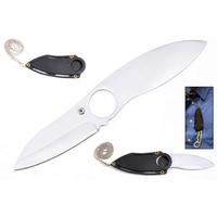 Couteau en acier avec chaine + étui