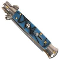 Couteau automatique Italien + étui, cran d'arret - A150BL2