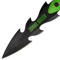 3 couteaux Zombie de lancer - Couteau jet WG10282