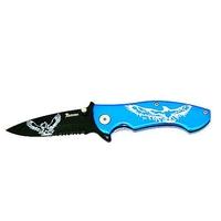 Couteau blue Aigle - pliant de poche
