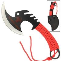 Hachette 29cm Zombie Killer - rouge full tang