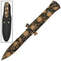 Dague Squelette 24,5cm Zombie