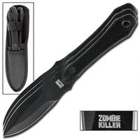 3 couteaux Zombie tactique de jet - Couteau lancer